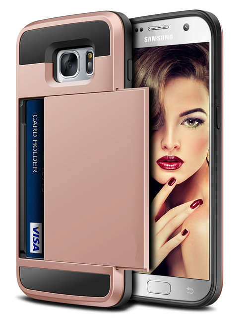 Magnetic-Flip Wallet Case – Galaxy Card Cases