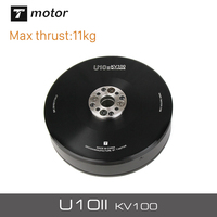 T Motor New 10KG+Thrust U10II KV100 Brushless Electrical Motor For Quadrocopter Aircraft With Iron Core Design