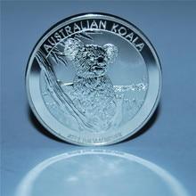 2015 Australian Koala Silver Coin 1 Oz 1 Dollar Australia Elizabeth II Silver Coin High quality copy round coins, free shipping copy coin 1 1704 russia