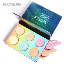Focallure 9 Colors Northern Lights Symphony Glow Palette Brighten Base Makeup Chameleon Highlighter