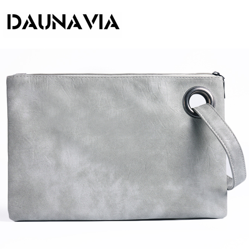 DAUNAVIA fashion women's clutch bag PU leather women envelope messenger bags clutch evening bag for female Clutches Handbags kpop fashion knitting women s clutch bag pu leather women envelope bags clutch evening bag clutches handbags black free shipping