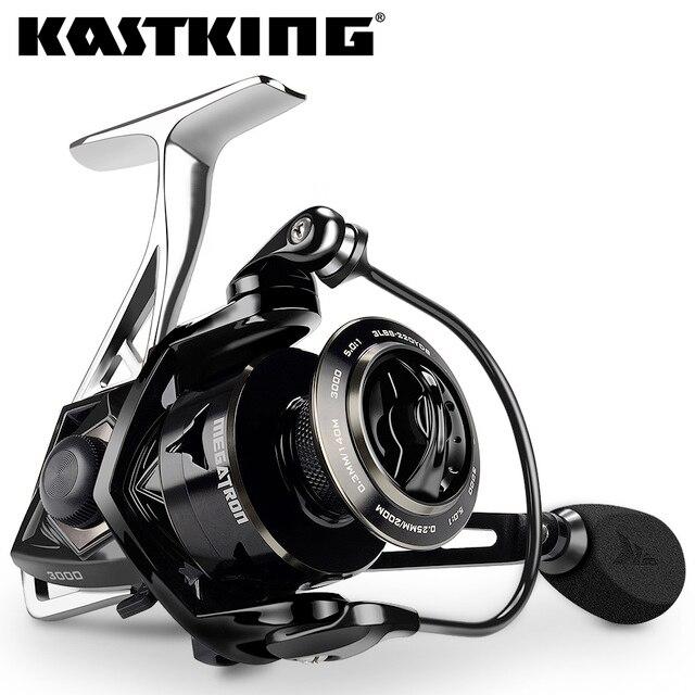 KastKing מגהטרון חדש מים עמיד פחמן גרור ספינינג סליל עם גדול סליל 21 KG מקסימום גרור מלוחים ספינינג דיג סליל