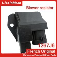 New Genuine Radiator Heater Motor Relay Blower Resistor 1267J6 9662872380 For Peugeot 301 207 208 2008 301 Elysee C2 C3