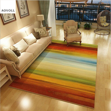 AOVOLL Colorful Delicate Carpets For Living Room Bedroom Kid Room Rugs Home Carpet Floor Door Mat Decorate House Large Area Rug yoosa fashion abstract delicate area rug soft large carpets for living room bedroom kids room rugs home carpet floor door mat