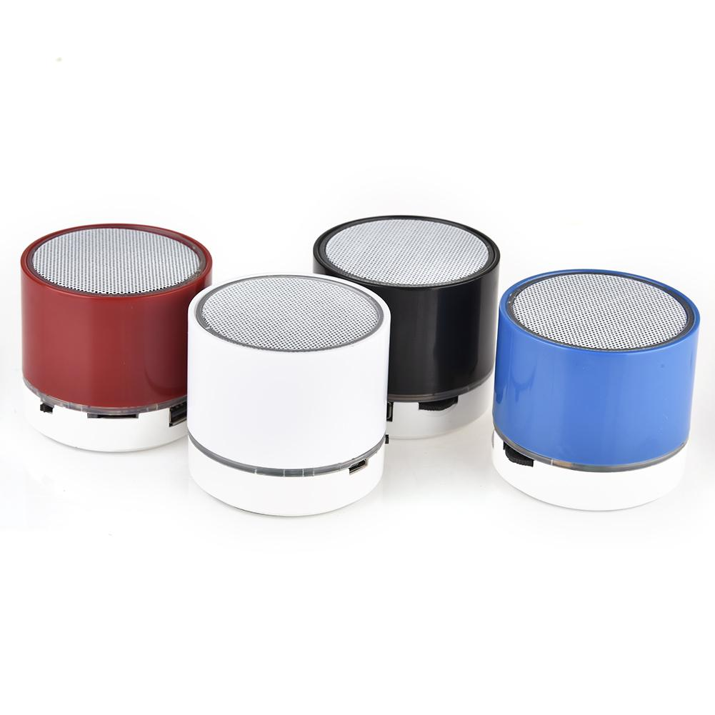 Image 2 - S10 Stereo Bluetooth Speaker Support U Disk TF Card Universal Mobile Phone Music Mini Wireless Outdoor Portable Woofer Subwoofer-in Portable Speakers from Consumer Electronics