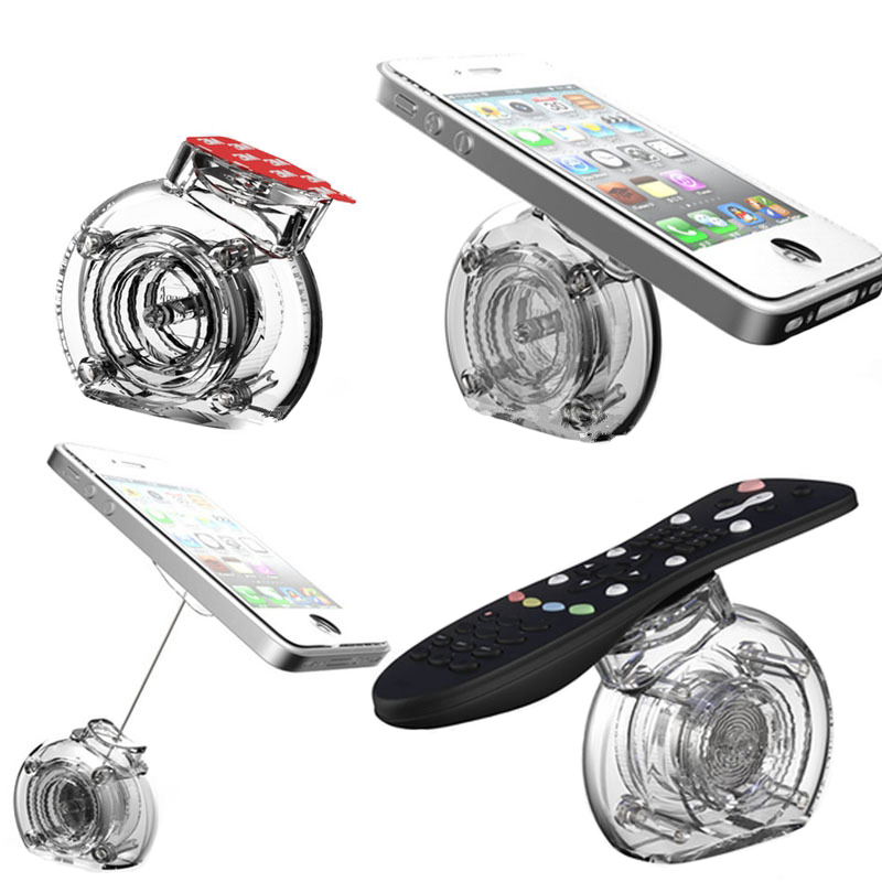 ᗕ40 Pcs Retractable Acrylic Mobile Phone Display Stand Cell Phone Enchanting Cell Phone Display Stands