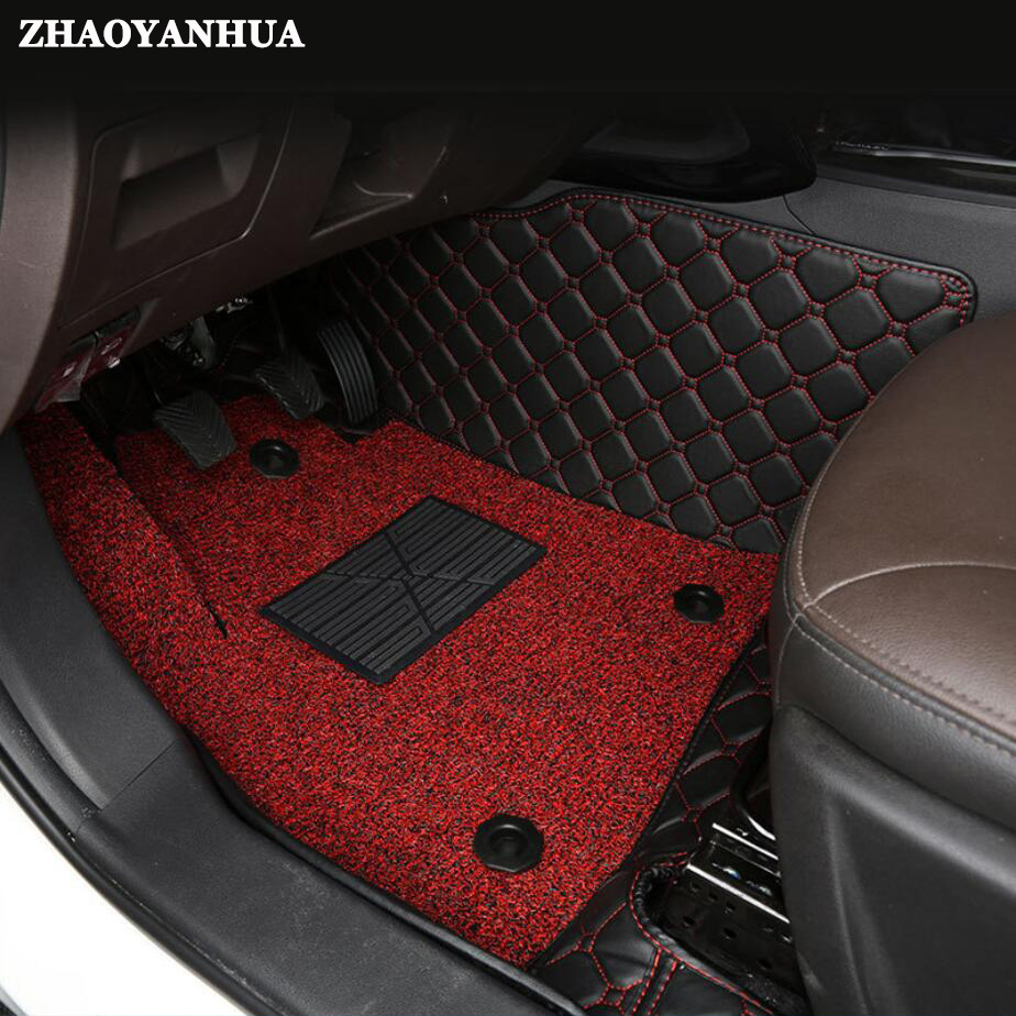 ZHAOYANHUA Custom fit tappetini auto per Suzuki Alto Swift SX4 S-cross 5D car styling heavy duty all weather moquette del pavimento liner