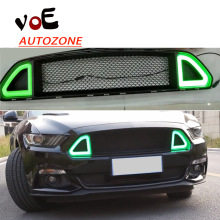 2015 2016 Mustang RTR Style ABS LED Front Racing Grill Grille for Ford Mustang