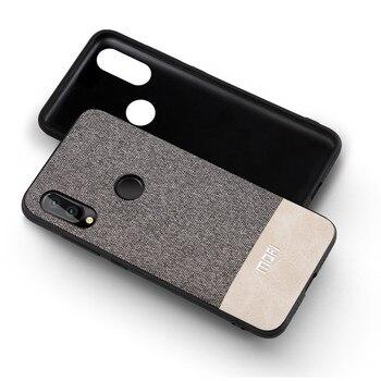 Back Cover Silicone Edge Fabric Shockproof Huawei nova 3i Phone Case