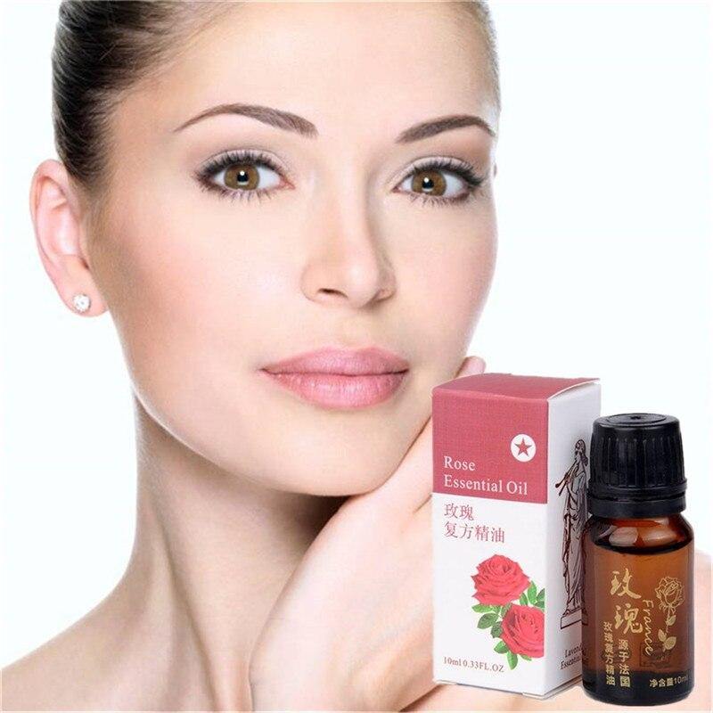 Facial Rose essential oil Face Care Acne Pimples Treatment Skin Care Whitening Cream Anti Wrinkle Moisturizing Black Head 10ml