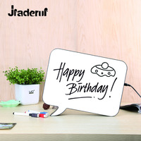Jiaderui DIY Hand Writing Cinematic Lightbox Table Ornaments A4 LED Lamp Battery USB Powered Desk Night Neon Sign for Home Deco