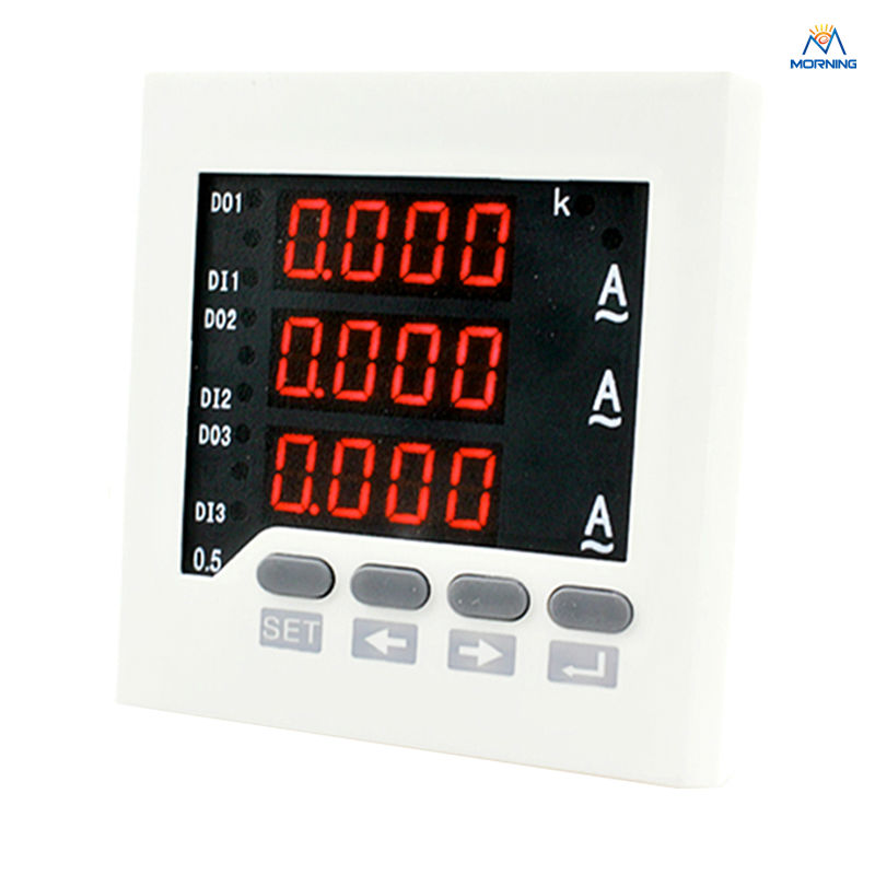 3AA73 ammeter 80*80mm 3-phase AC current meter fortisflex ксс 3 80