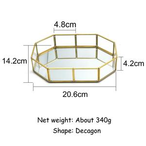 Image 2 - Guoyi S010 creative three dimensional brass glass office storage pen holder storage box and hotel room business jewelry gift box