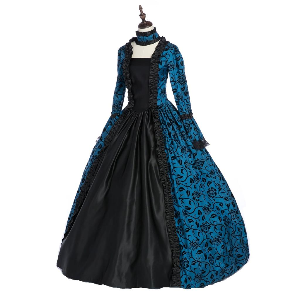 Victorian Rococo Dress for  Women