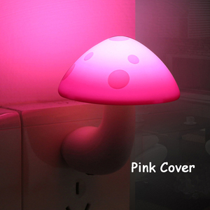Image 5 - Mini Mushroom Baby Night light Automatic Sensor Light Control Lamp EU US Plug Child Kids Baby Room Led Lamp