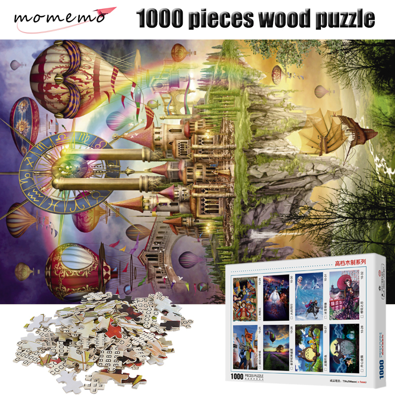 Pieces Puzzles MOMEMO Adults