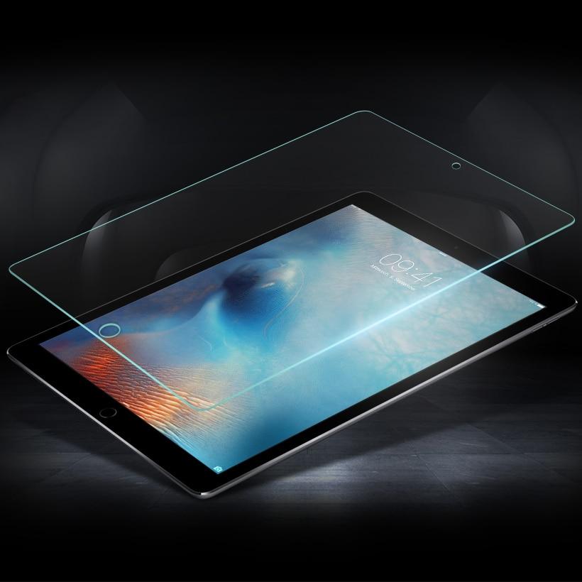 Tempered Glass For Apple iPad Pro 10 5 2018 2 3 4 5 6 Air 1 iPad2 iPad3 iPad4 iPad6 Screen Protector iPad 9 7 2017 Mini 1 2 3 4 in Tablet Screen Protectors from Computer Office