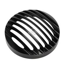 5″ Motorcycle Deep Cut Headlight Grille Cover For Harley Sportster XL 883 1200