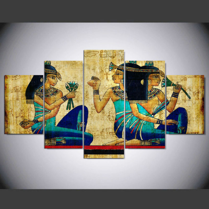 Painting Art Wall Modular Picture For Living Room Framework 5 Panel ...
