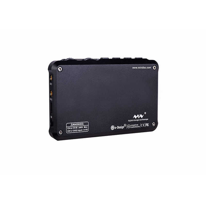 DS213 Digitale Oscilloscoop USB ARM Nano Osciloscopio 15MHz 4 Kanalen ARM Cortex M3 Meter Mini Osciloscope Beter Dan DSO203