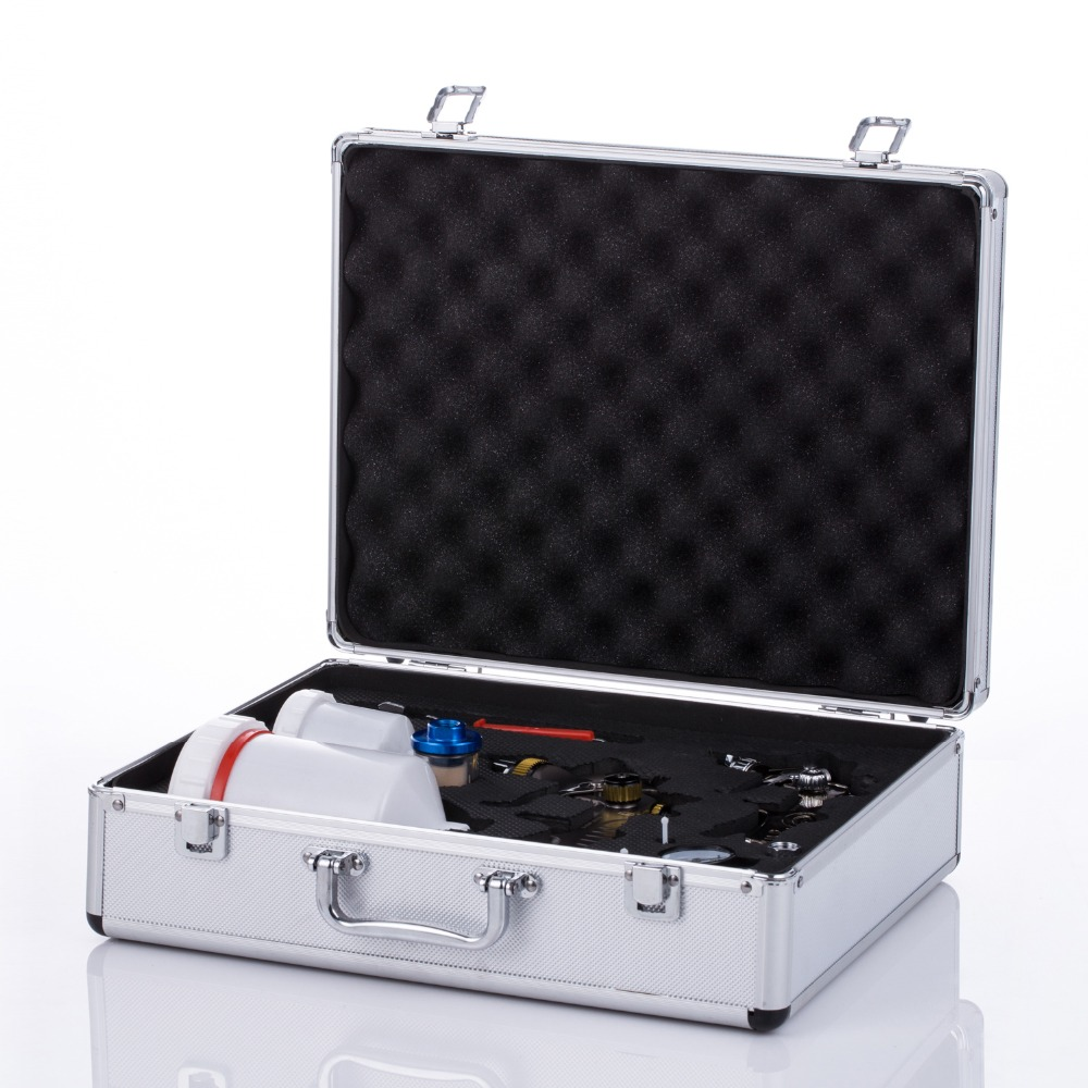 Weta spray paint gun box only box no gun Airbrush airless spray gun holder for painting car Pneumatic tool