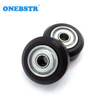 3D Printer Accessories Plastic pulley Openbuilds Passive Pulley  Perlin Wheel 625Z  POM Big wheels (with bearings)