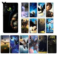 How To Train Your Dragon desdentado Yinuoda Colorido Caso de Telefone para Xiao mi mi mi mi x2 6 x2S Note3 8 8 lite Red mi 5 note5 Note4 4X(China)