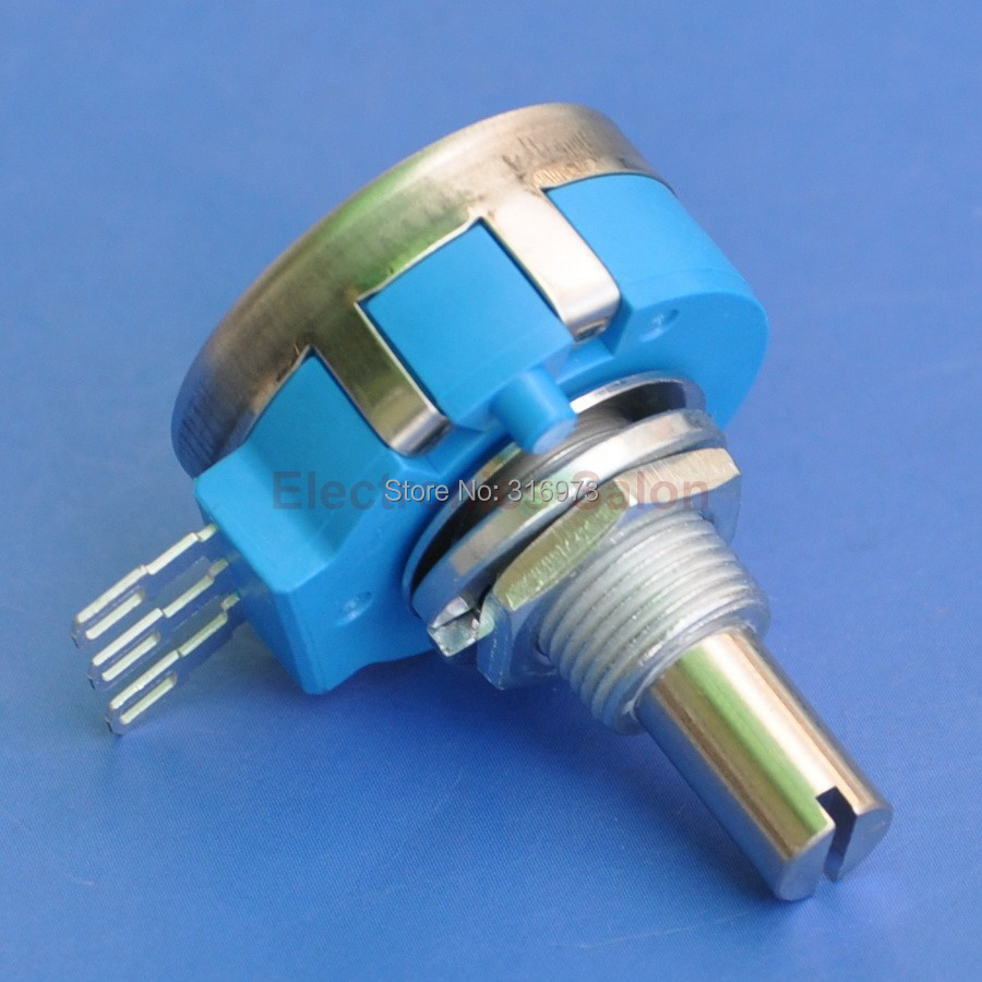 RVQ24YN03 20S B502 Rotary Potentiometer 5K OHM Long Life Panel Pot COSMOS TOCOS