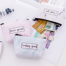 New Fashion Marbling Pattern Coin font b Wallet b font Bag PU Leather Zipper Women Ladies