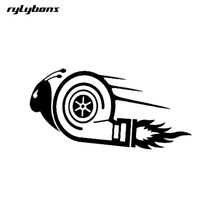 rylybons 1Pcs 15*7.5cm body car decals and Sticker DUB Drift Race car sticker funny animal Motorcycle Accessories vinyl stickers(China)