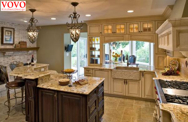 American Country Style Kitchen Cabinets