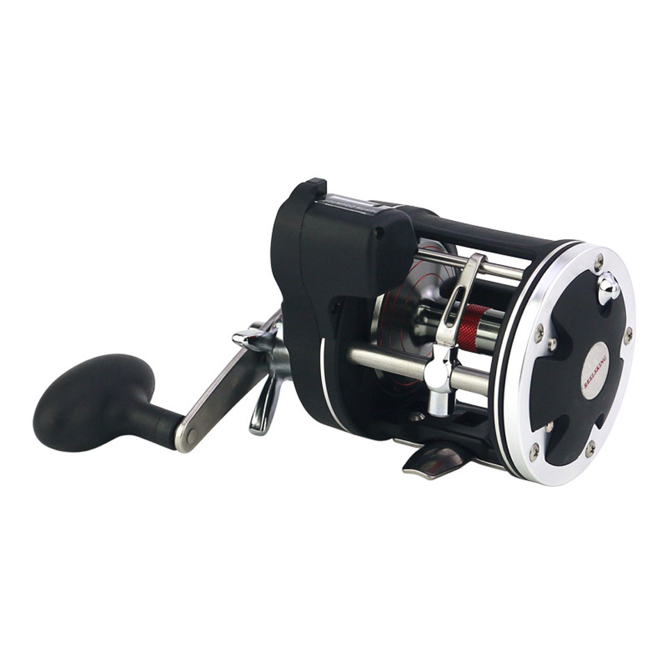 High quality Bait Casting Fishing Reel with counter 12BB High strength body cast drum wheel baitcasting