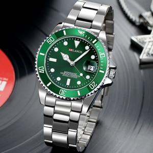 Image 2 - 남자 럭셔리 시계 브랜드 rolexable 방수 패션 간단한 아날로그 석영 손목 시계 스테인레스 스틸 밴드 시계 relogio