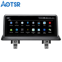 Aotsr Android 4.4 Car GPS Navigation NO DVD Player Headunit For BMW E87 (2006 2012) With Idrive 1 Din Radio Multimedia Stereo