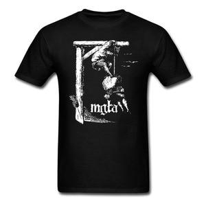 Image 3 - Mgla упражнение в Futulity дополнительно dowm гнездо футболка для мужчин и женщин печать тройник большой размер S XXXL