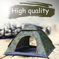 Camping Tent Waterproof Hiking Tent Anti UV Folding Automatic Pop up Open Ultra Light Sun Protection Shed