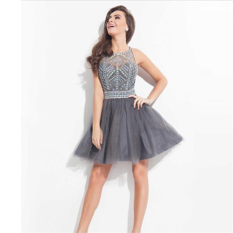 Grey Tulle Dress gallery