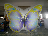 floated PVC inflatable butterfly