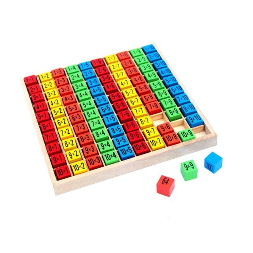 Educativos Matemáticas Juguete Percepción Cm Niños 19x19 De Multiplicación Juguetes 99 Tabla hCxsdQBtr