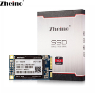 NEW Zheino Q1 MSATA 60GB SSD For Laptop Mini PC Tablet PC Free Shipping