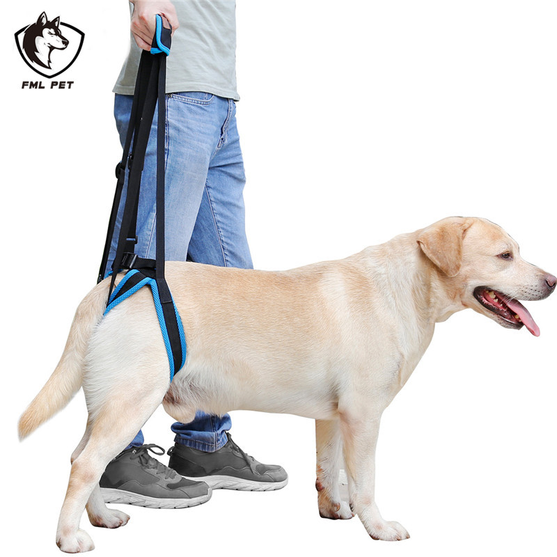FML Pet Harness Mesh Dog Lift Harness for Back Legs Sling For Dogs
