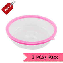3 PCS Plate Topper Universal Leftover Lid Microwave Cover Airtight Plate Topper Home Free Shipping