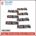 6pcs/Pack NiceRF SRX882 Super Heterodyne 315MHz ASK Receiver Module with spring antenna