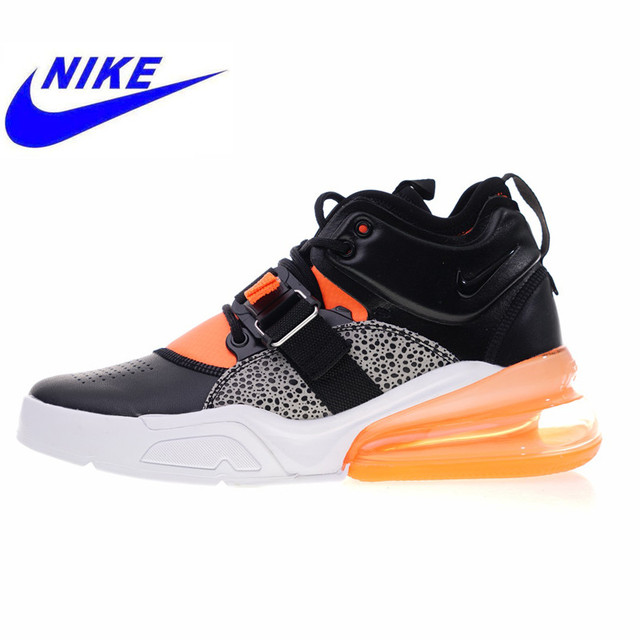 official photos 8fbc5 ab07a US $85.57 57% OFF|Nike Air Force 270 Men's Running Shoes, High Quality  Shock Absorption Non slip Outdoor Sports Shoes AH6772 004 AH6772 006-in  Running ...