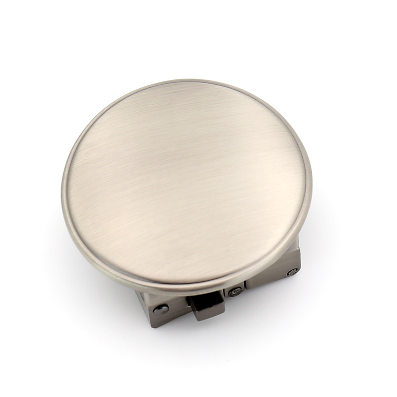 Fashinable Men'S Round Belt Buckle Alloy Material Application Of Belt Body Width 3.5cm High Quality Designers CE55-1351