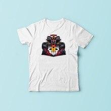 Max Verstappen f1 car cartoon t shirt homme new Breathable tshirt man Short Sleeve Plus Size jollypeach brand T-shirt men