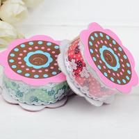 New Small Flower Button Nail Edge Ribbon Headband Edging Material Clothing Accessories Ultrasonic Embossing Belt Wholesale