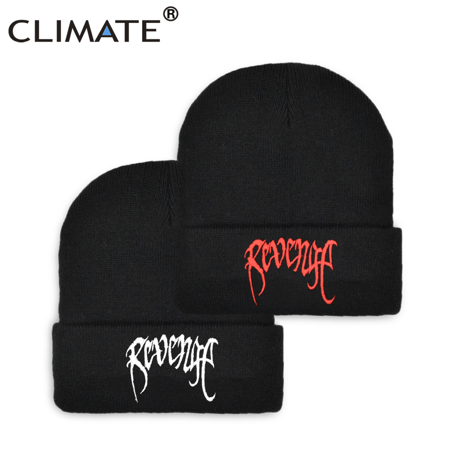 CLIMATE Xxxtenta Revenge Beanie Hat Beanies Tentacion Winter Dreadlocks Hat Cap Warm Knit Hip Hop Beanie Hat Caps For Men