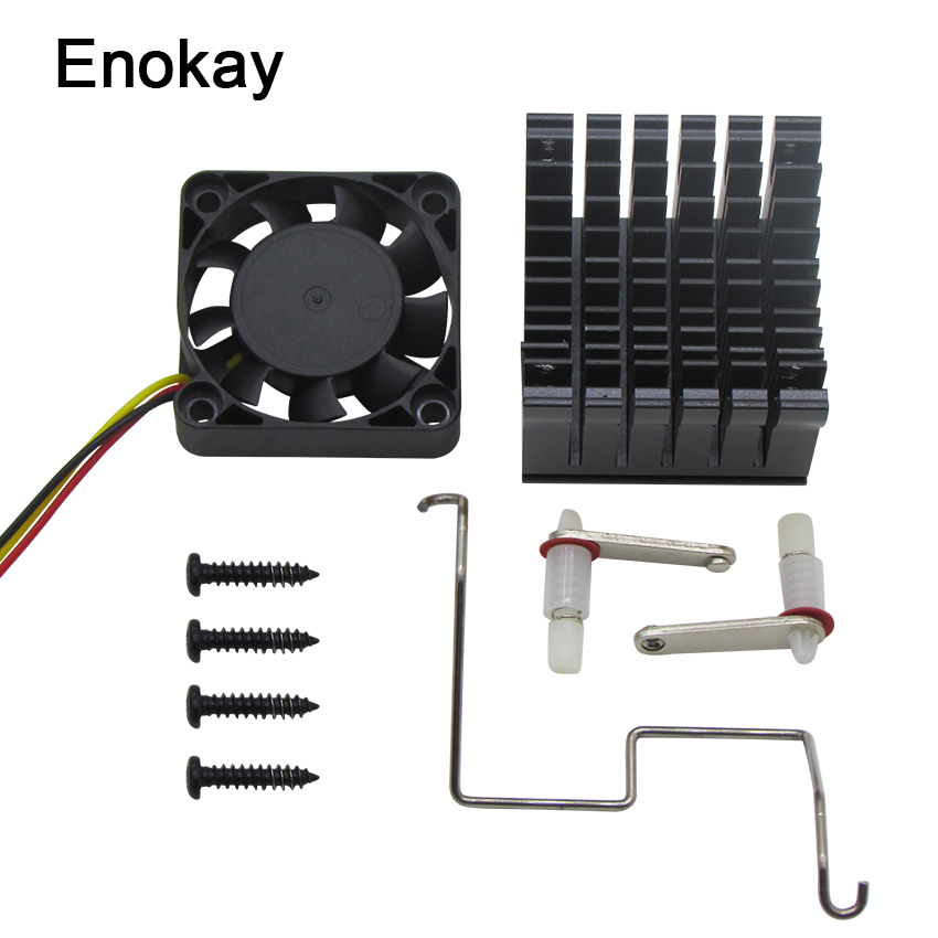 Enokay 1pcs 40mm x 10mm Cooling Fan Heatsink DIY Northbridge Cooler South North Bridge Radiator for PC Computer(China)