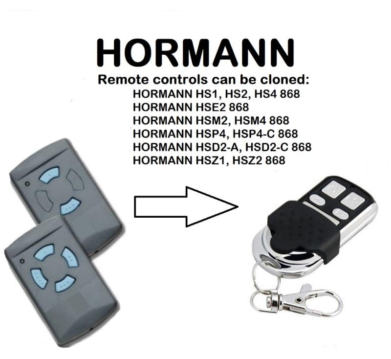 HORMANN HSM2, HSM4 868 Universal Remote Control Duplicator 868.35MHzHORMANN HSM2, HSM4 868 Universal Remote Control Duplicator 868.35MHz